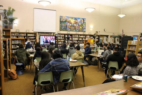 Mrs. Majewski Hosts State of the Union Watch Party