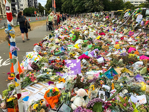 People from around the world pay tribute to the Christchurch attack.