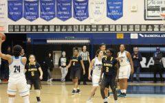 AHS Girl's Basketball Team Defeated Against Ramona High School