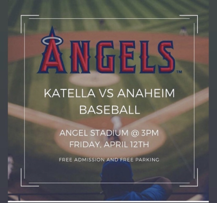Anaheim v. Katella at Angels Stadium