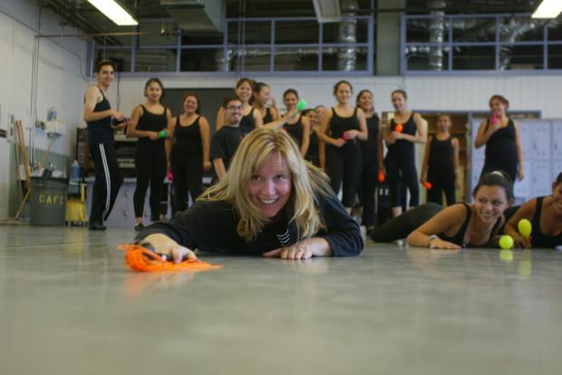 Meg+Elder+teaches+dance+at+Anaheim+High+School.+%28Photo+by+Jebb+Harris%2C+Orange+County+Register%29