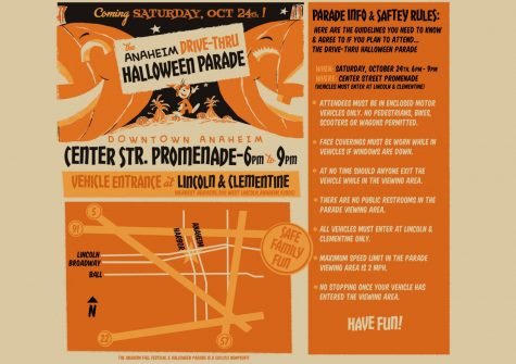 This image was from the official Anaheim Fall Festival and Halloween Parade website which showcases the guidelines that need to be followed in order to combat any spread of Covid-19.
