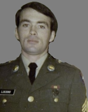 Sgt. Robert Likens in his Army service uniform.