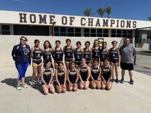 Anaheim's Girls XC : Makes History