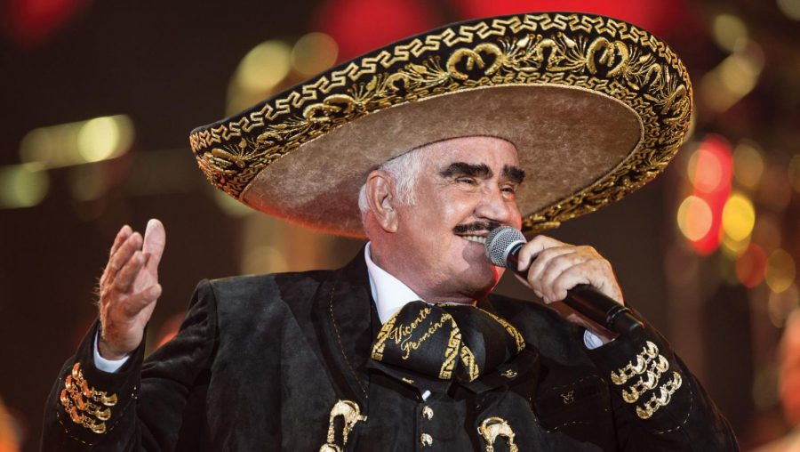 The King of Mexican Music Suffers Fall